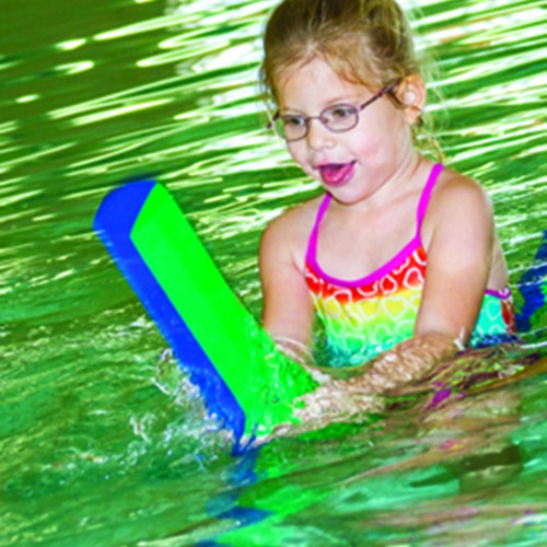 Pediatric Therapy Center offers aquatic physical therapy which helps children learn to master on-land skills in an environment with reduced effects of gravity that provides gentle resistance.