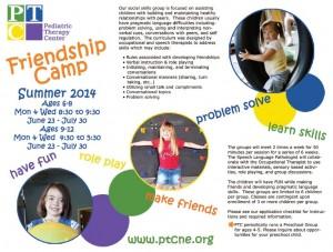 Friendship Camp 2014