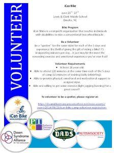 Volunteer- Icanshine