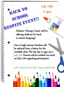 Back to School Respite Event final