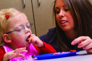 Pediatric Therapy Center's sequential oral sensory approach to feeding program is part of their occupational therapy program designed to help children address and overcome problematic feeding behaviors.