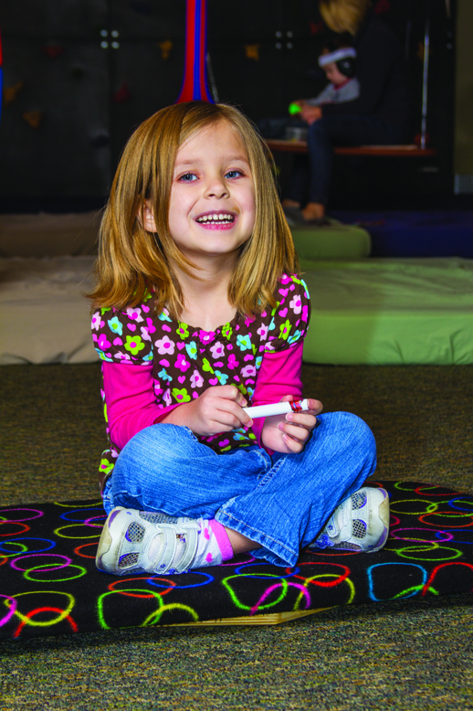 Pediatric Therapy Center provides Astronaut Training through its occupational therapy program. For children that experience dizziness Astronaut Training provides precise input to all five vestibular receptors, along with auditory and visual input to create a comprehensive treatment that integrates these three sensory systems.