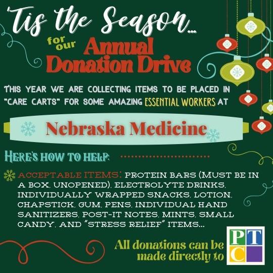 Annual Donation Drive